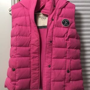 Hooded Abercrombie and Fitch Vest